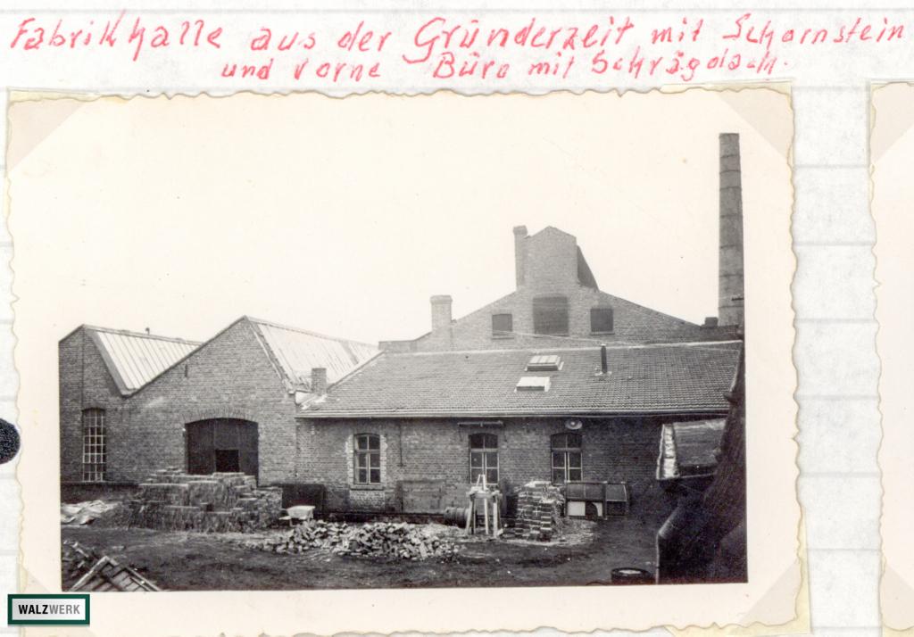 Uebemann Fabrikhalle 1935