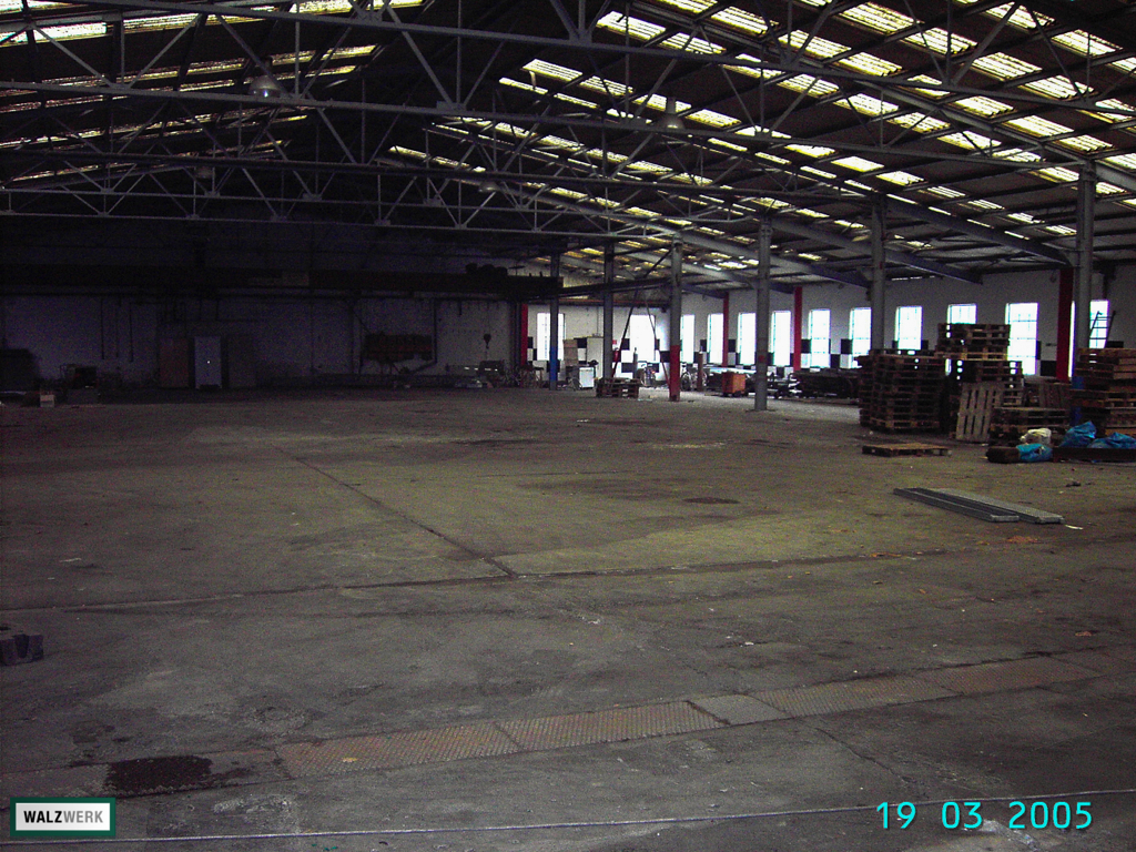 Walzwerk - Der Umbau 2005 - 04