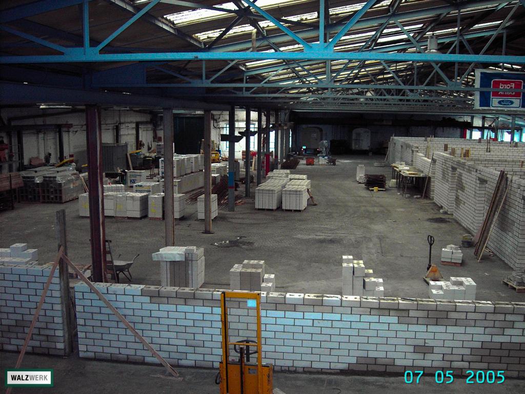 Walzwerk - Der Umbau 2005 - 07