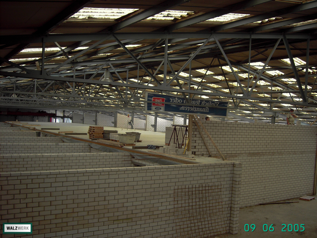Walzwerk - Der Umbau 2005 - 13