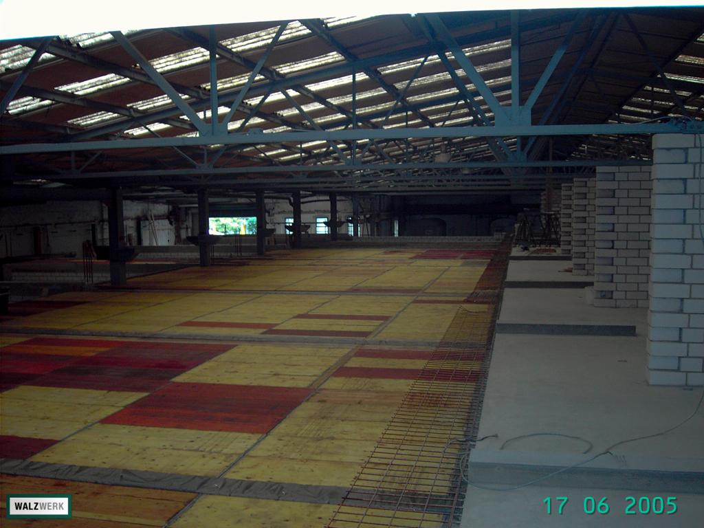 Walzwerk - Der Umbau 2005 - 18