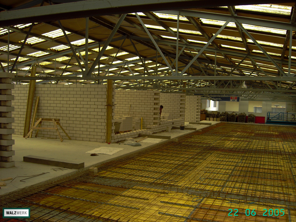 Walzwerk - Der Umbau 2005 - 22