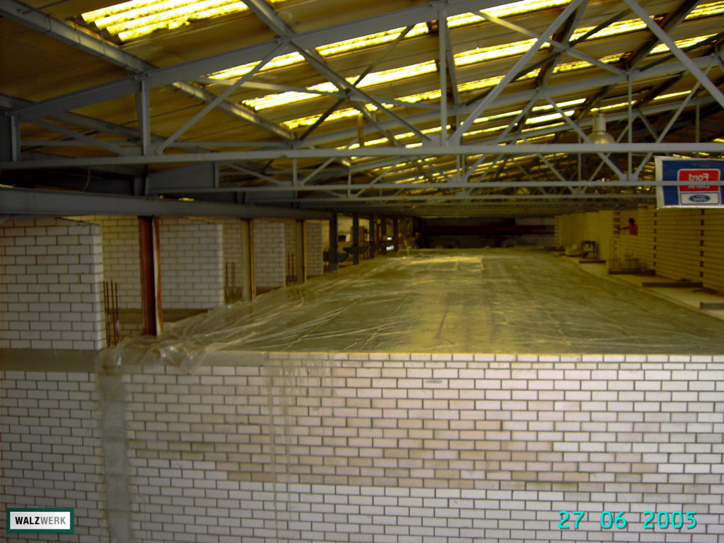 Walzwerk - Der Umbau 2005 - 25