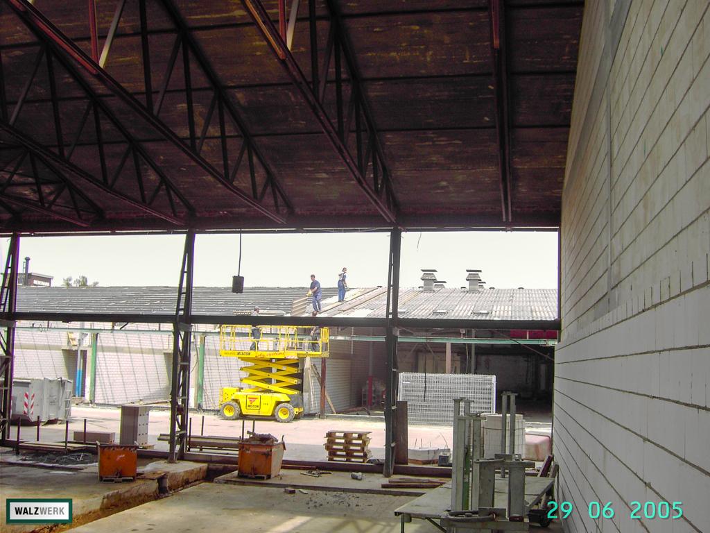 Walzwerk - Der Umbau 2005 - 30