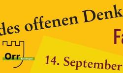 Denkmaltag_Plakat Rittergut Orr 2014